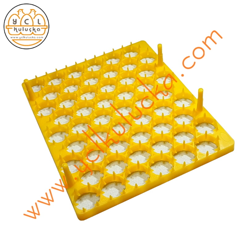 Kuluçka Makinesi için 54 Yumurta Kapasiteli Tavuk Viyol