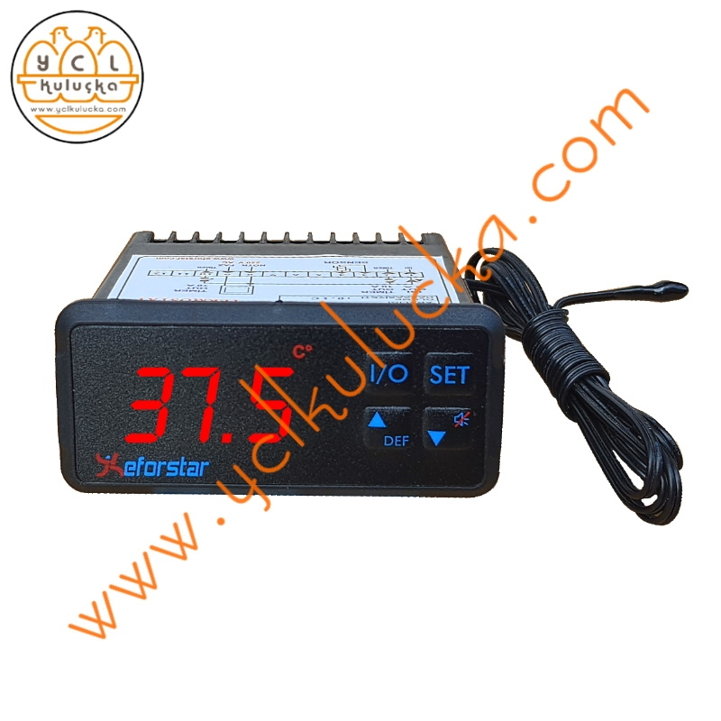 Eforstar PL-11 Isı Ölçme ve Kontrol Cihazı (Termostat)