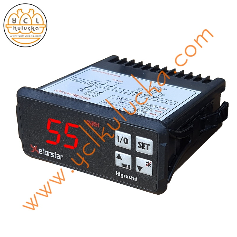 Eforstar HD-21 Higrostat Nem Ölçme Kontrol Cihazı