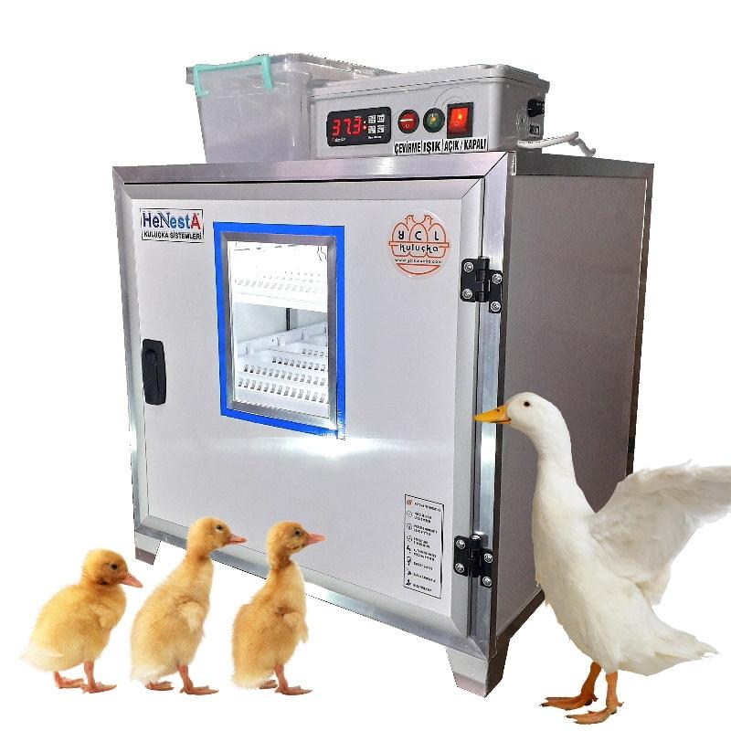 Kaz Kuluçka Makinesi - Tam Otomatik 72 Yumurta Kapasiteli - Henesta