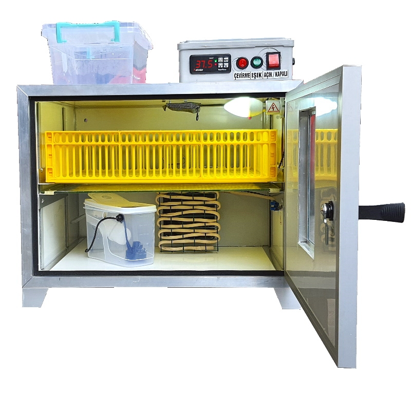 Bıldırcın Kuluçka Makinesi - Tam Otomatik 168 Yumurta Kapasiteli - Henesta