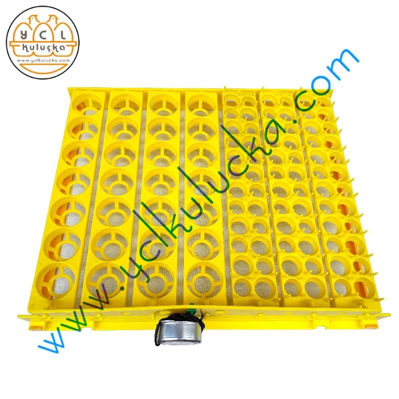 Bıldırcın Kuluçka Makinesi için 168 Yumurtalık Motorlu Viyol