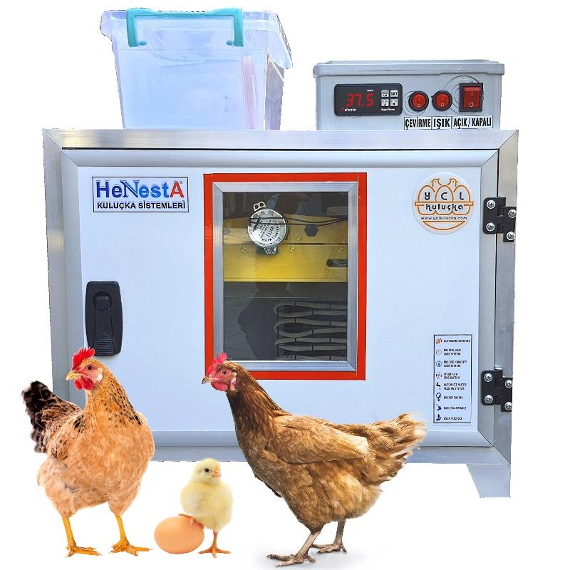 Tavuk Kuluçka Makinesi - Tam Otomatik 49 Yumurta Kapasiteli - Henesta