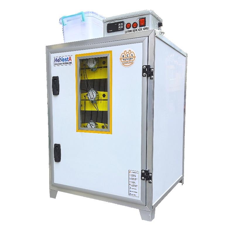 Bıldırcın Kuluçka Makinesi - 504 Yumurta Kapasiteli Tam Otomatik - Henesta