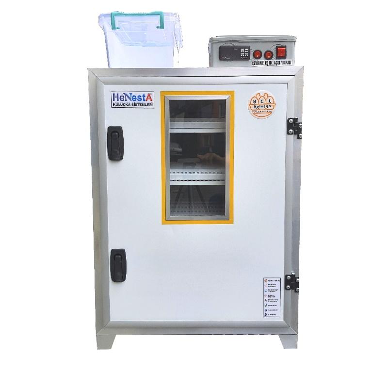 Kaz Kuluçka Makinesi - Tam Otomatik 108 Yumurta Kapasiteli - Henesta