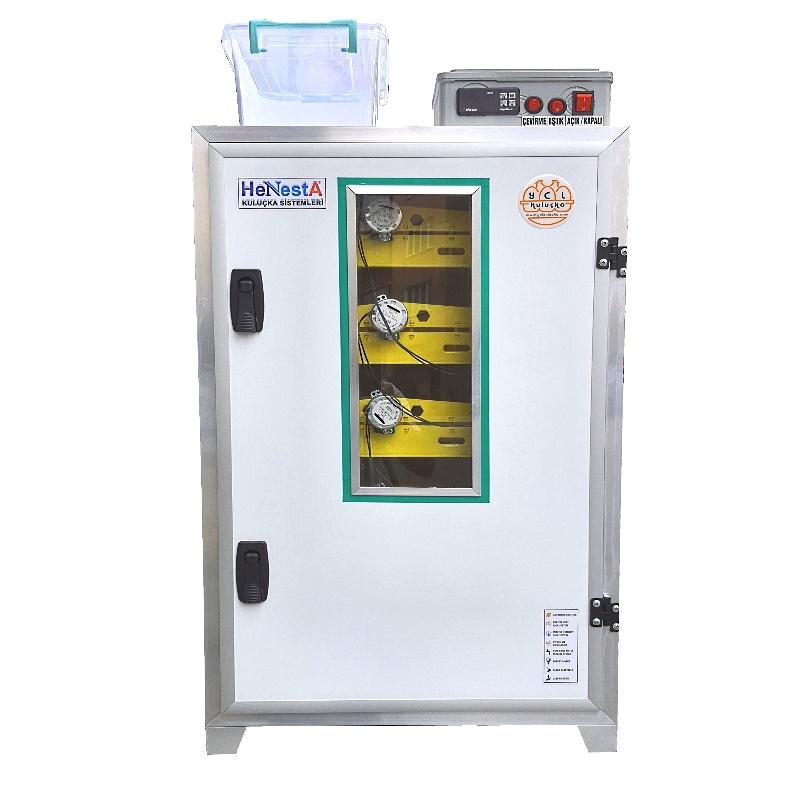 Bıldırcın Kuluçka Makinesi - 672 Yumurta Kapasiteli Tam Otomatik - Henesta