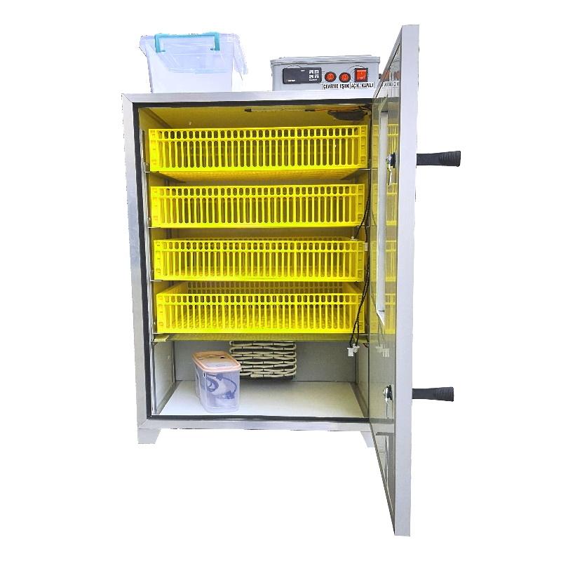Kuluçka Çıkım Makinesi - 216 Yumurta Kapasiteli - Henesta